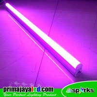 Lampu TL Neon T5 LED Pink 30cm