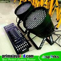 Lampu Panggung Set Par 84 LED DMX 512