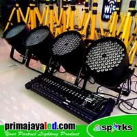 Lampu Panggung Paket Set 4 LED Par 84 DMX 384