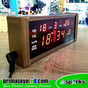 Aksesoris Lampu Jam Meja Digital Mini Light