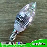 Bohlam LED Candle Light E14 Bulp 3 Watt