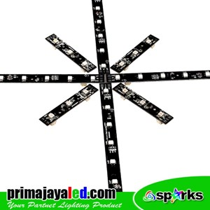 Lampu LED Paket Lighting Madrix Effect 450 Meter