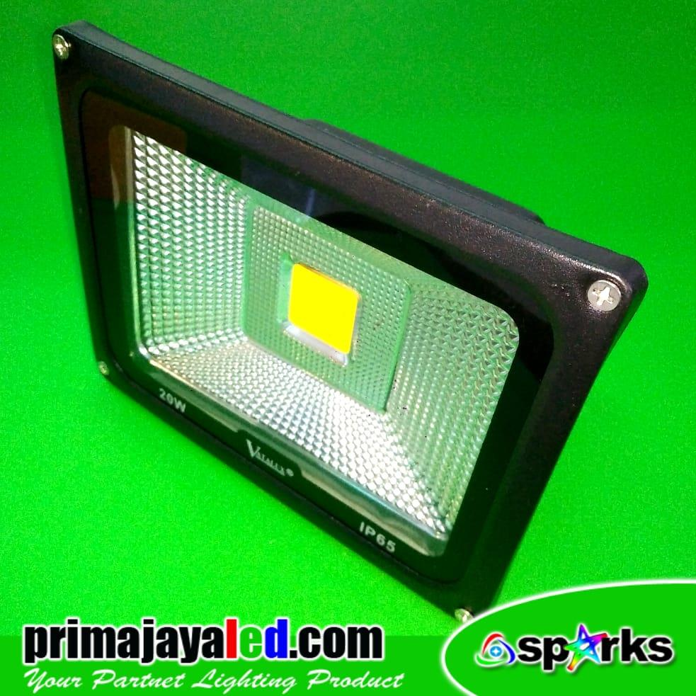 Jual Lampu LED Tembak LED 20W Outdoor Harga Murah Jakarta
