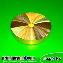 Lampu Downlight Ceiling LED Outbo Gold 5 Watt