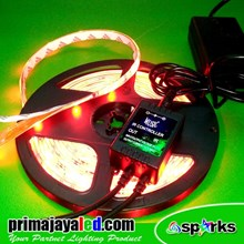 Lampu LED Flexible Strip RGB Active Sound Control