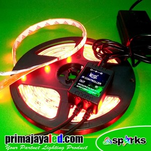 From Lampu LED Flexible Strip RGB Active Sound Control 0