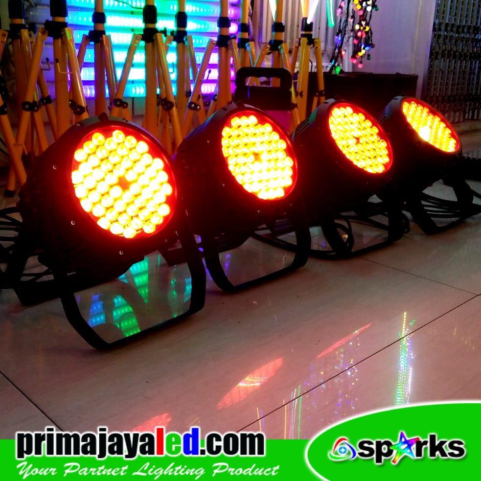 Jual Lampu PAR 54 LED 3in1 RGB Outdoor Harga Murah Jakarta