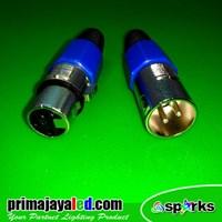 Aksesoris Pencahayaan Socket Kabel DMX 512