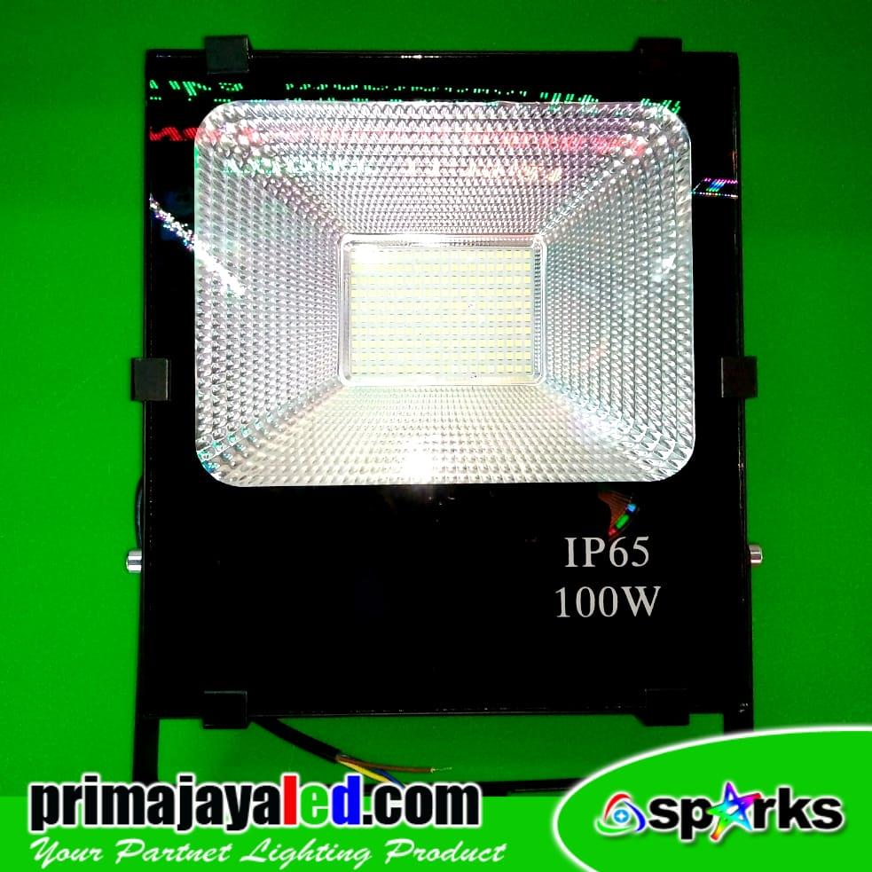 Jual Lampu Spotlight LED 100 Watt SMD Chip Harga Murah