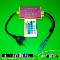 Jual Perlengkapan Lampu Controler LED Selang RGB Remote 2