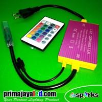 Distributor Perlengkapan Lampu Controler LED Selang RGB Remote 3