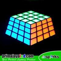 Jual Lampu LED Panel Rubix RGB 3D Effect 2