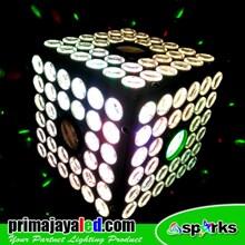 Lampu Disco Kubik Magic Ball LED