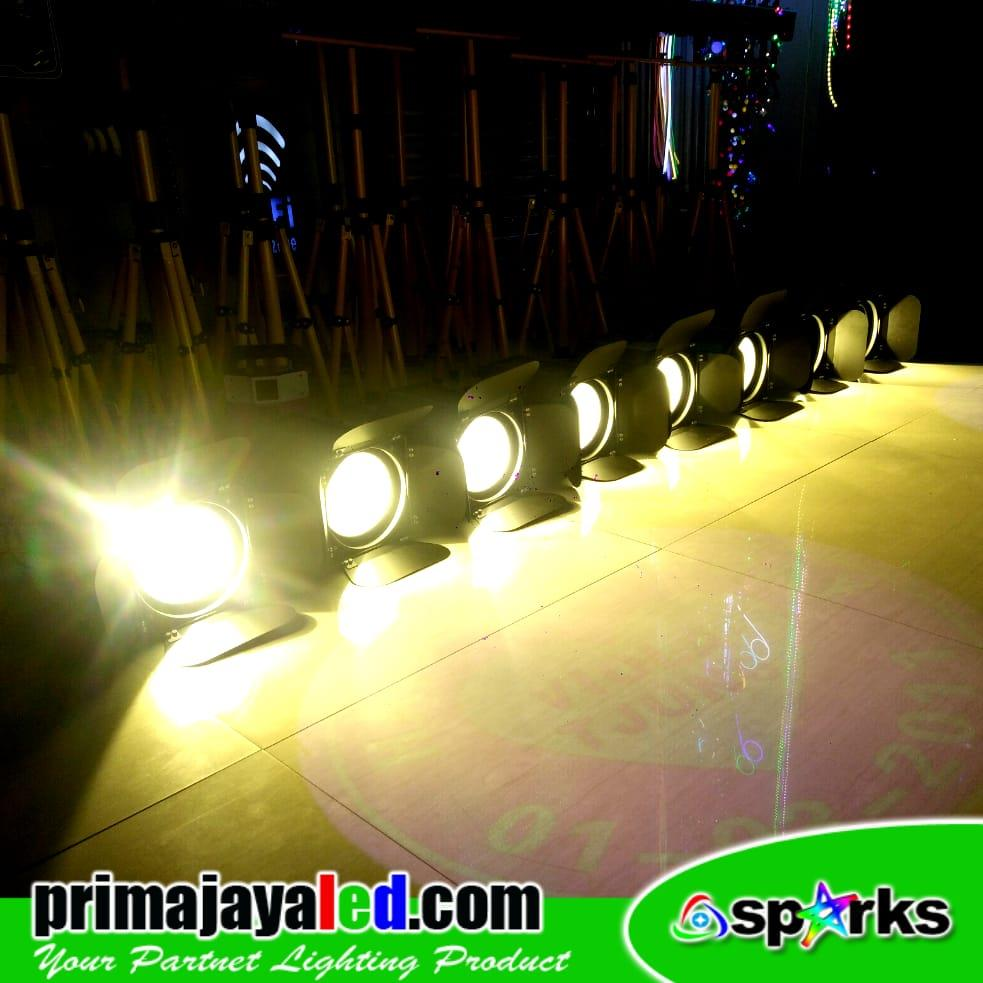 Jual Lampu Panggung Paket Lighting Freshnel 200w LED Set 8