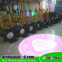 Jual Lampu Panggung Paket Lighting Freshnel 200w LED Set 8 2