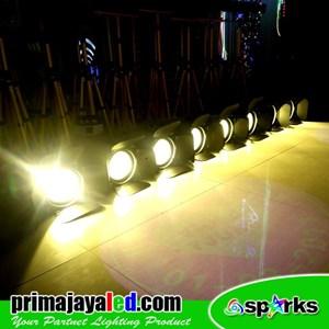 Lampu Panggung Paket Lighting Freshnel 200w LED Set 8