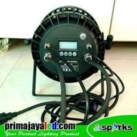 Beli Lampu Panggung New Par 54 X 3 Watt Full Color Spark 4