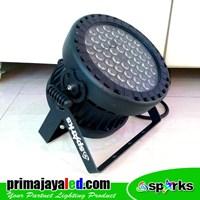 Lampu Panggung New Par 54 X 3 Watt Full Color Spark 1