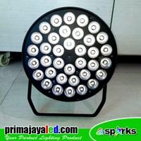 Distributor Lampu Panggung Spark Par 36 X 10w LED 4in1 RGBW 3