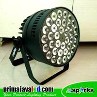 Lampu Panggung Spark Par 36 X 10w LED 4in1 RGBW 1