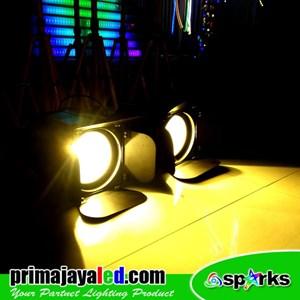 Stage Light Set 200 Watt Double Fresnel 2in1 Spark