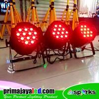 Lampu Panggung Paket Set 3 Par LED 36 X 3w RGB Murah 5
