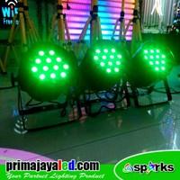 Distributor Lampu Panggung Paket Set 3 Par LED 36 X 3w RGB 3