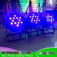 Beli Lampu Panggung Paket Set 3 Par LED 36 X 3w RGB 4