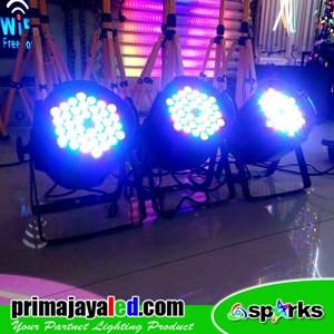 Lampu Panggung Paket Set 3 Par LED 36 X 3w RGB