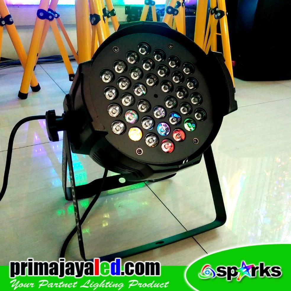Jual Lampu Panggung Par LED 36 X 3w RGB Harga Murah