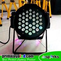 Beli Lampu Panggung Par LED 36 X 3w RGB 4