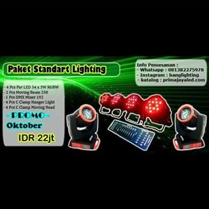 Lampu Panggung Paket Standar Lighting