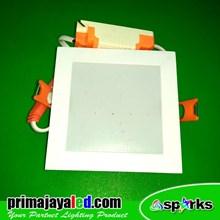 Lampu Downlight Panel LED Kotak 6 Watt