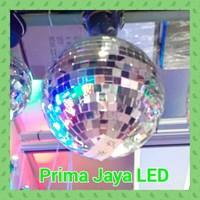 Aksesoris Lampu Panggung Disco Miror Ball 12 Inci 30 Cm