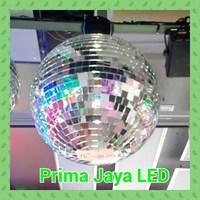 Aksesoris Lampu Panggung Bola Disco Kaca 20 Inci 50 Cm