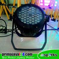 Lampu Panggung Par LED Outdoor 54 X 3w Full Color