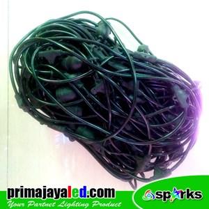 Kabel String 100 Fitting E27 Ulir