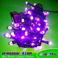 Christmas Lights New Twinkle LED Christmas Violet