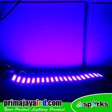 Lampu LED Outdoor Module COB 2 Watt Biru