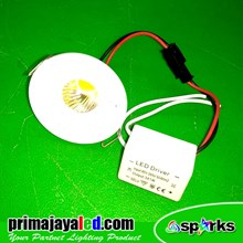 Lampu Downlight Ceiling LED Spotlight COB 3W