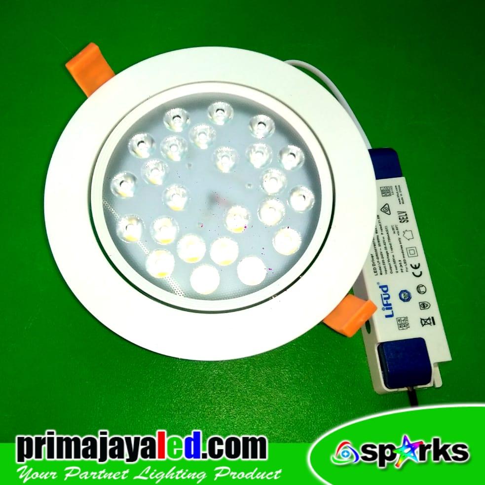 Jual Lampu Downlight Ceiling LED Spotlight 36 Watt Harga