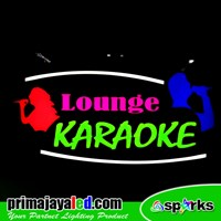 LED Sign Acrylic Lounge Karaoke