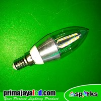 Lampu Bohlam Candle LED 5 Watt Chip SMD