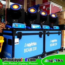 Lampu Moving Head Set Double Beam 230 Spark
