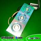 Lampu Downlight Ceiling LED 3 X 1 Watt Spotlight 1