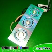 Lampu Downlight Ceiling LED 3 X 1 Watt Spotlight