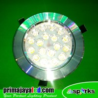 Lampu Downlight LED Spotlight 18 Watt