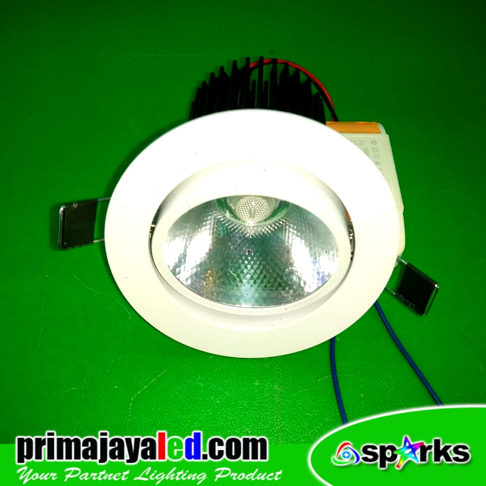 Jual Lampu Downlight Ceiling LED COB 12 Watt Harga Murah
