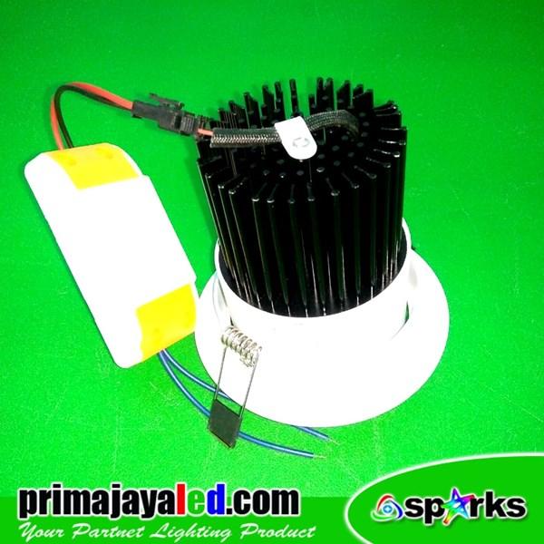 Lampu Downlight Ceiling LED COB 12 Watt