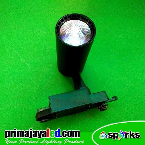 Lampu Rell LED Track Spotlight 12W COB
